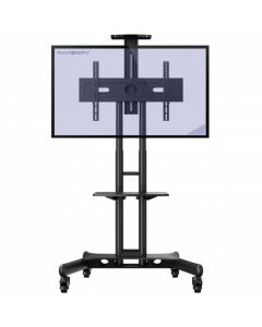 Invision GT1200 Mobile TV Stand Trolley Cart ScreenStation for 32-65 TV's VESA 600x400mm